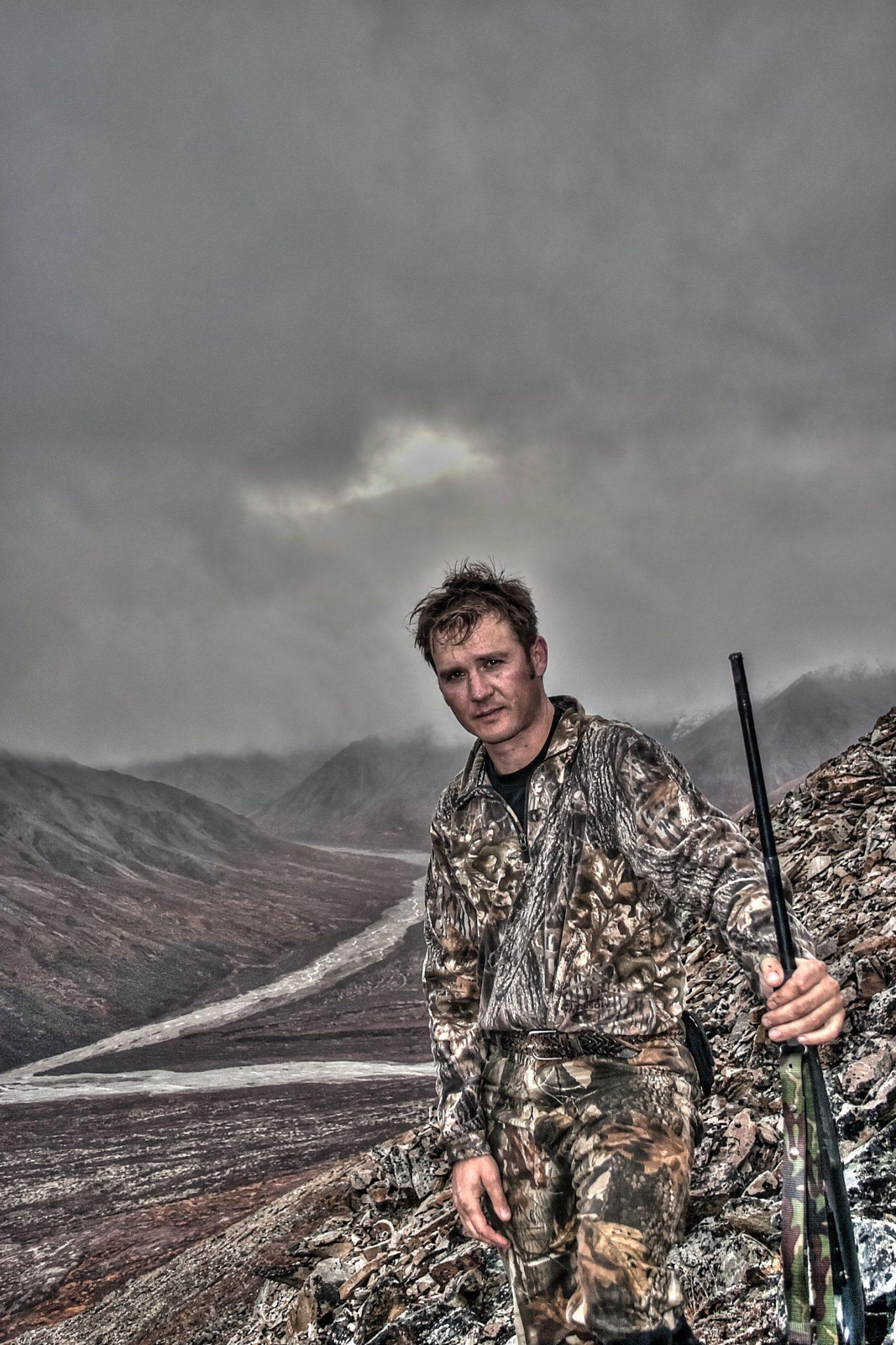 actor sheldon charron hunter outdoorsman athlete producer enter360 media director hunting alaska