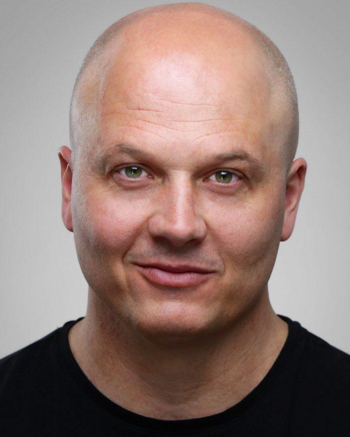 Sean G Actor Headshot by Photographer Sheldon Charron